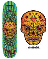 Sugar Skull Music Design Deck version3 by reyjdesigns