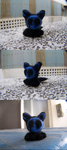 Wool Felting: Little Eyeless Jack Kitty by GingaAkam