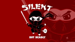Silent But Deadly Wallpaper by GaryckArntzen