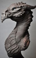 Goliath Dragon Bust Creature Sculpt 2 Beast by AntWatkins