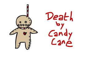 Death by Candy Cane by flyingkittie