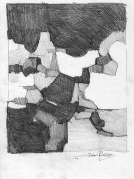 Composition, pencil on paper. by Bizriart
