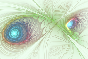 Fractal Eyes by CMWVisualArts