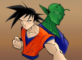 Dragon Ball Z by KidNotorious by thisisevermore