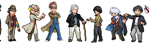 doctor who pixel by meauxthi