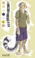 Sage Cheetah by SilentRavyn
