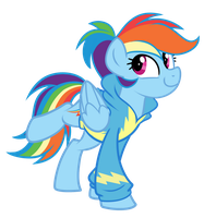 Comm: RainbowDash by Left2Fail