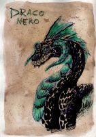 Draco Nero by rainsingingdragon