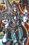Midna: Princess of the Twilight Realm by d13mon-studios