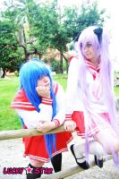 Lucky star - Konata and Kagami by CherryMemories