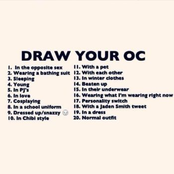 Draw Your OC Challenge by PPGZxRRBZ123
