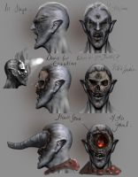 Skywind Ash follower concepts by Ravanna7