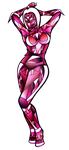 Pink Pinup -Revisit- by RubyPheonix