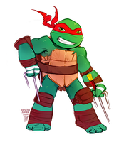 Just Raph (: by lorna-ka