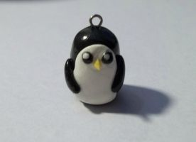 Gunter Penguin Charm by ImSodaHyper