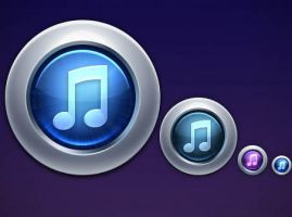 iTunes 10 Replacement by FreeIconsFinder