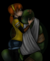 TMNT-Safe in your Arms by FlashyFashionFraud