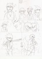 comic idea for Dre lone wolf  p1 by Darz213