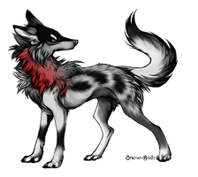 Wolf Adoptable :CLOSED: by Okami-Heart