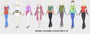 Spring Summer Collection 07 by firedancer-clothes
