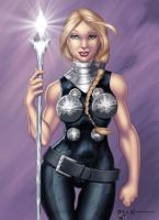 Valkyrie By Harpokrates Colors By  Tracywong by cerebus873