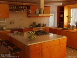 Kitchen by ryan-mahendra