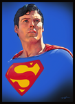 Superman (study) by HarlequiNQB