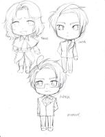 ChibiHetalia-Sketch03 by Jumpix