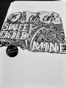 Sweet Child O Mine by jacintabrowning