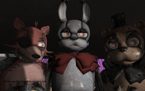 MMD FNAF - Drawkill models... by InvaderBlitzwing
