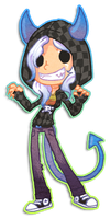 Chibi Chartreuse by griffsnuff