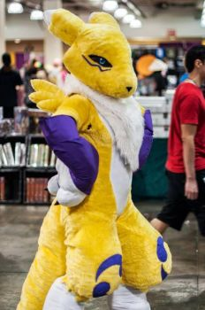 Sassy Renamon is Sassy by ThreadandClaws