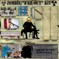 """Meme Zombie """"F""""ail out by KodyYoung"""