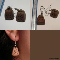 Odd Keystone Earrings by ChibiSilverWings