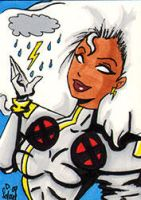 Storm sketch card by dsoloud
