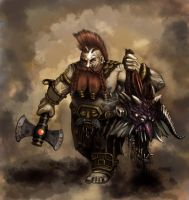 Dwarf Slayer by loverio