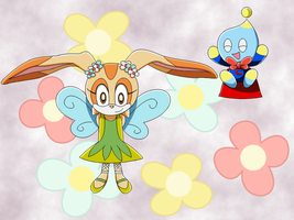 Cream-Cheese:Fairy-Super Chao by SQuietSonamy