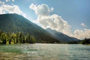 Lac Champex by ricchy