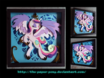 12 x 12 Cadance Shadowbox by The-Paper-Pony