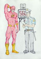 The Flash Speed Trap #3 by Javor911