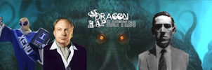 L. Ron Hubbard VS HP Lovecraft (DRB S4 Finale) by dragonsblood23