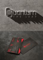 Quantum The Leap Super Club Corporate Branding by Lemongraphic