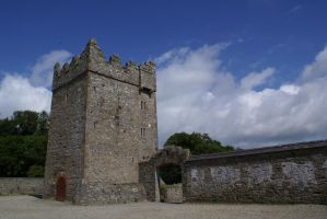 Tower, gate and wall by mindCollision-stock