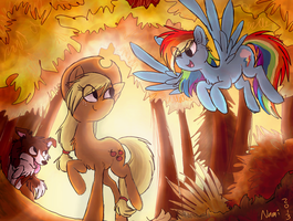 Fall Weather Friends by IamtehPILOT