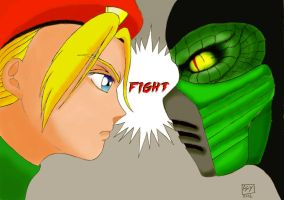 Cammy VS Reptile by Markisy