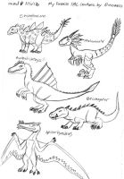 My Favorite TAC Creatures by Daizua123 2 by Dinoboy134