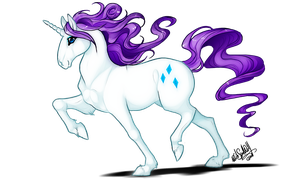 MLP .: Rarity :. by WhiteSpiritWolf