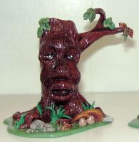Clay Treant 1 by ladytech