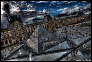 paris - blue chaos by haq