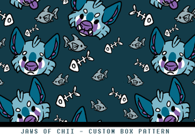 Custom Box Pattern - Jawsofchii by Plumbeck